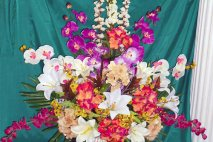 Silk flowers stephensons jamaica sf0010 silk orchid arrangement mightylinksfo