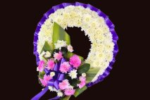 SP0004 - Purple Wreath